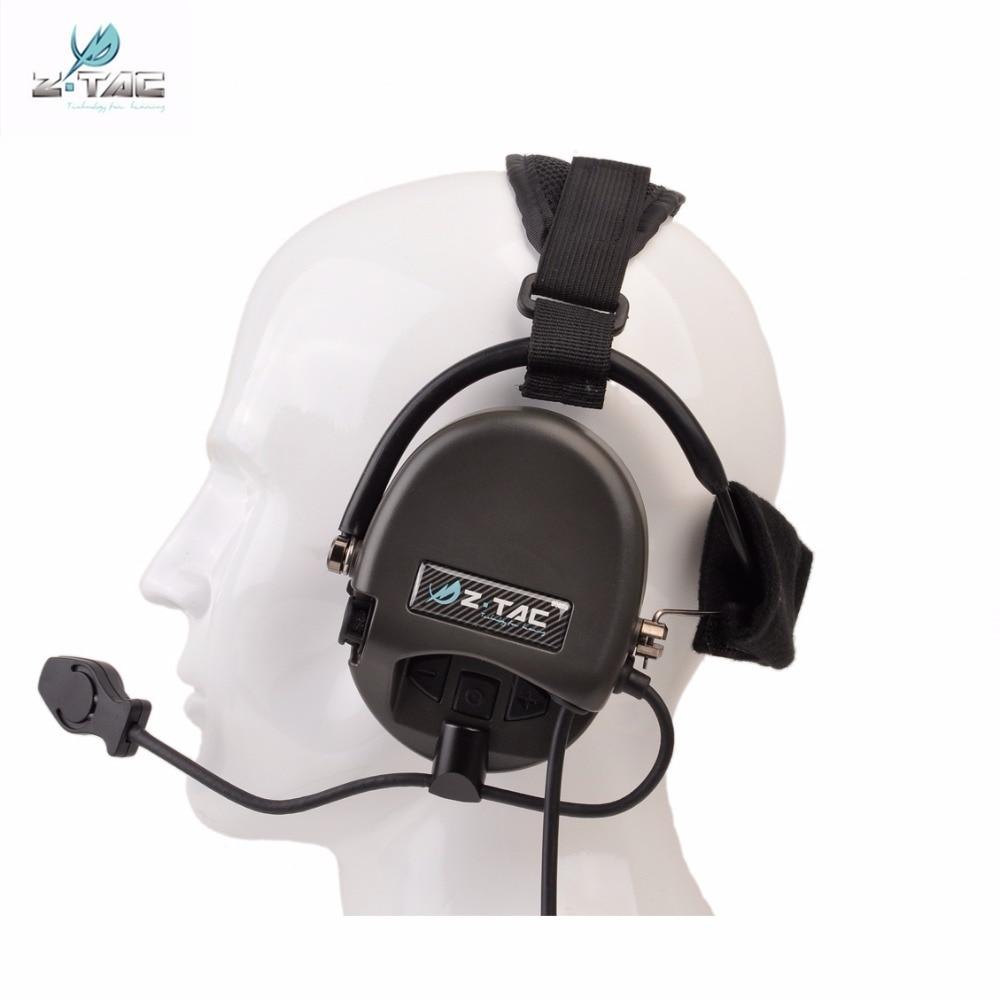 Z Tactical Softair օդաչու ականջակալ Comtac TCI - Որս - Լուսանկար 3