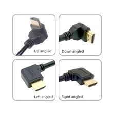 90 Degree HDMI male to female extension cable 15cm