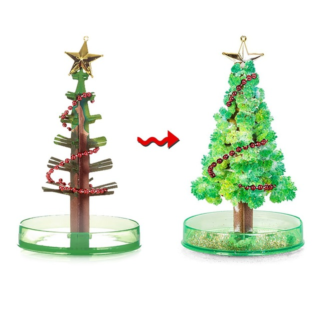 Magic Christmas Sakura Tree DIY Toys For Children Antistress Grow  - Magic Christmas Tree