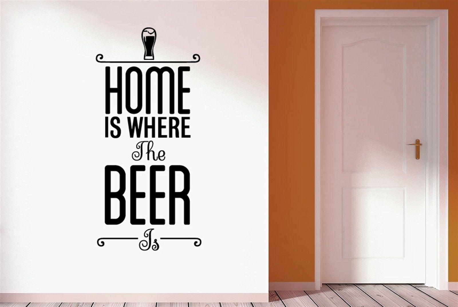 bier sprüche englisch Q012 Heißer Englisch Zuhause Ist, Wo Das Bier Wandsticker Decals  bier sprüche englisch