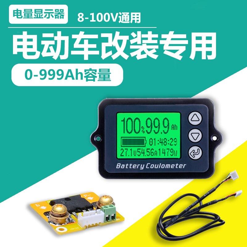 Tk15 Con Borsette Coulomb Batteria Batteria Del Veicolo Elettrico Indicatore Di Alimentazione Al Litio Ferro Fosfato Rivelatore Capacità Ampia Fornitura E Consegna Rapida
