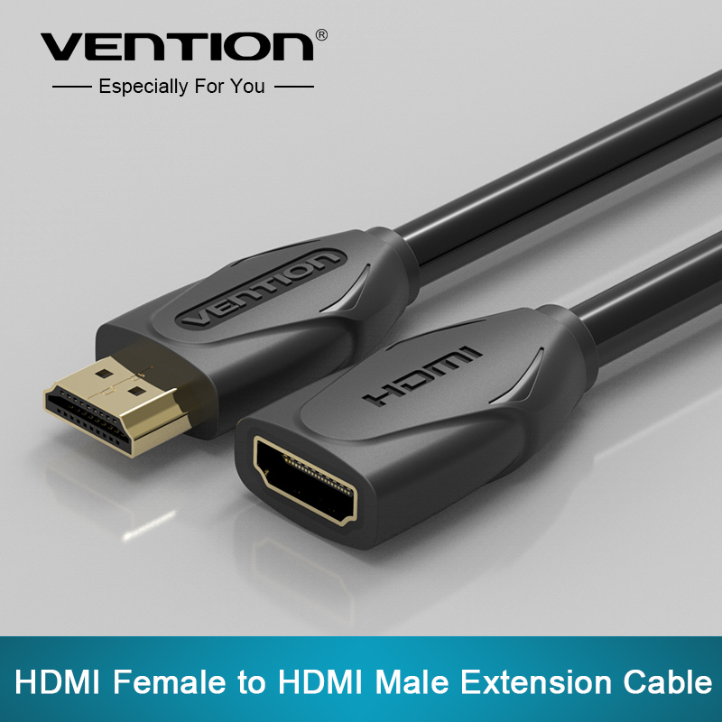 Vention HDMI Extension Cable male to female 1M 2M 3M 5M HDMI 4K 3D 1 4v