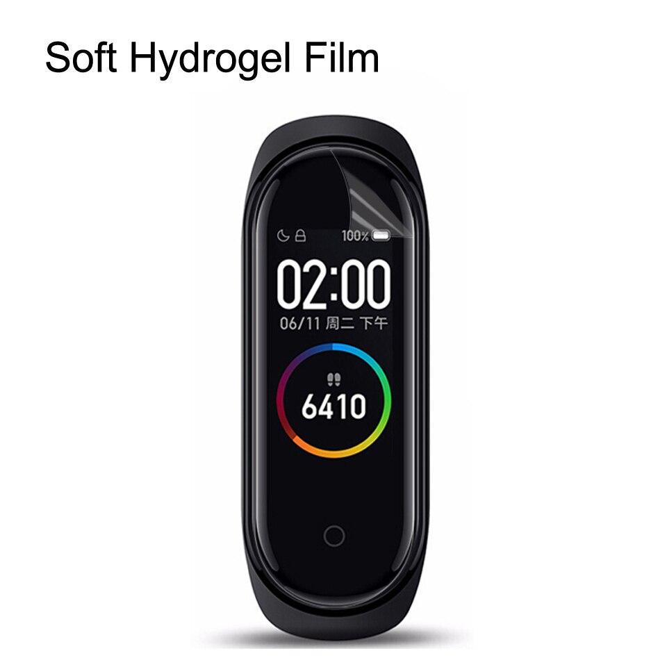 5pcs 10pcs Screen Protector Soft TPU Hydrogel Film for Xiaomi Mi Band 4 3 Pro Miband4 Bracelet Protective Film HD Explosion