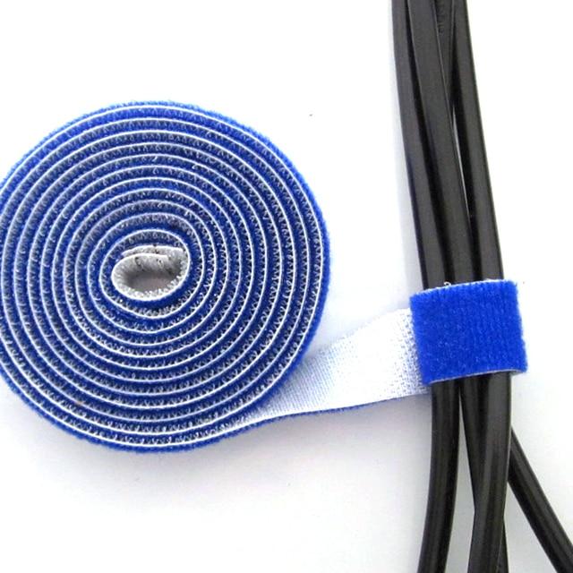 4 Stücke 1 meter Kabelbinder, rot Gelb Blau Schwarz Vier Farben 1,5 ...