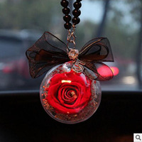 Aitificial Flowers The immortal flower hangs a bag of jewelry decorated with a decorated valentine's day gift