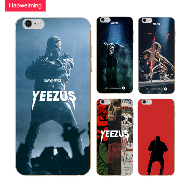f781b7c1f5bb63 Haoweiming Kanye West Yeezus Slim Silicone Soft TPU Cover Case For iphone X  4 4S 5 5S SE 6 6S 7 8 Plus  H151