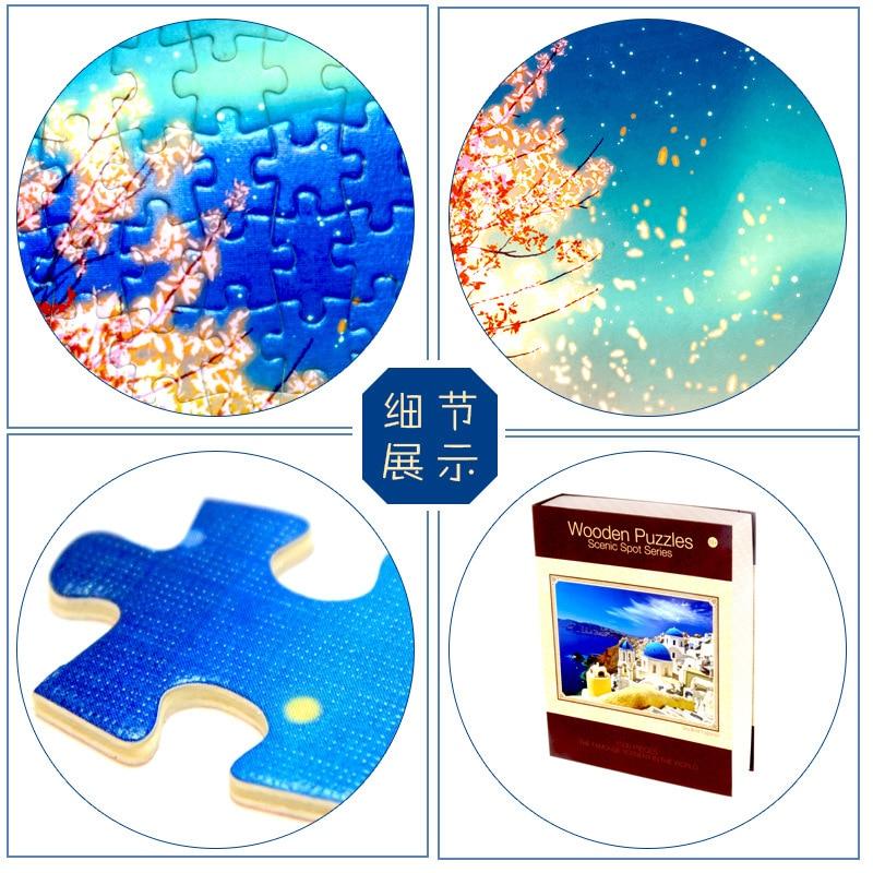 Novi proizvod obrazovne igračke Eiffelov toranj 3D drveni papir - Igre i zagonetke - Foto 5
