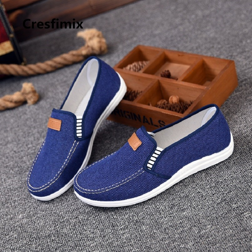 Cresfimix hommes chaussures male fashion