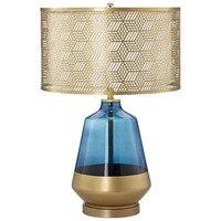 YOOK 40*66CM Modern Copper LED Table Lamp Bedroom Bedside Table Lamp Creative Personality Table Lamp for Living Room 220V 27E