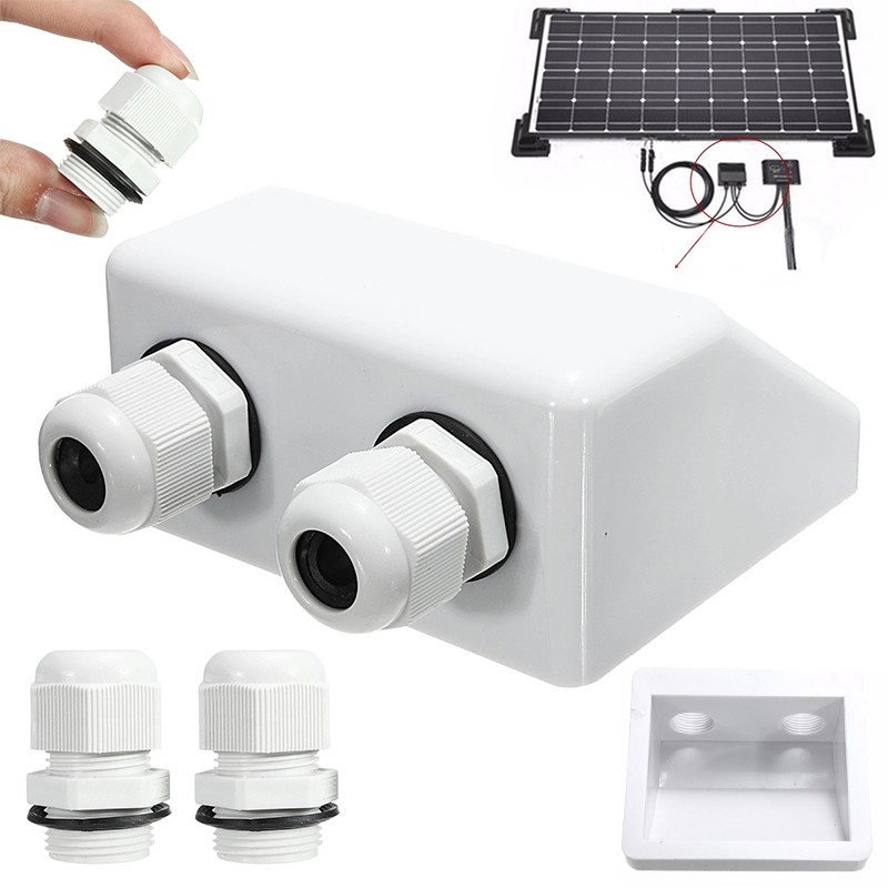 Rv Parts & Accessories Automobiles & Motorcycles New 1 Pc Abs Solar Rv Hunting Stand Roof Duct Cable Entry Round Junction Box White Rv Accessories
