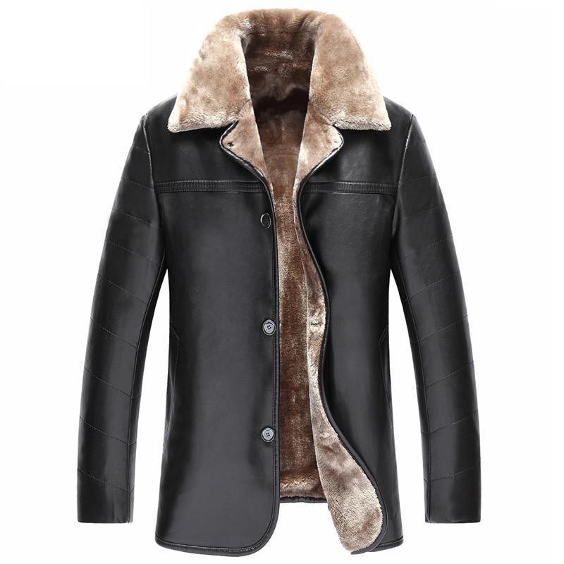 Popular Mens Leather Jacket Fur-Buy Cheap Mens Leather Jacket Fur