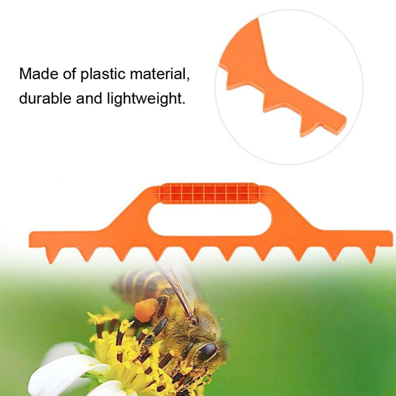 Image 5 - 9 Frame Hive Spacer Bee Hive Frame Spacing Tool Beekeeping Equipment Plastic Apiculture Accessories-in Beekeeping Tools from Home & Garden