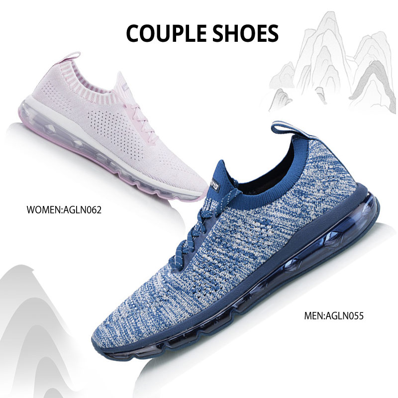 Li-Ning Men BUBBLE MAX KNIT Lifestyle Shoes Breathable Wearable LiNing Comfort Sport Shoes Sneakers AGLN055 YXB163