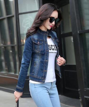 Куртка женская, винтажная, с длинным рукавом