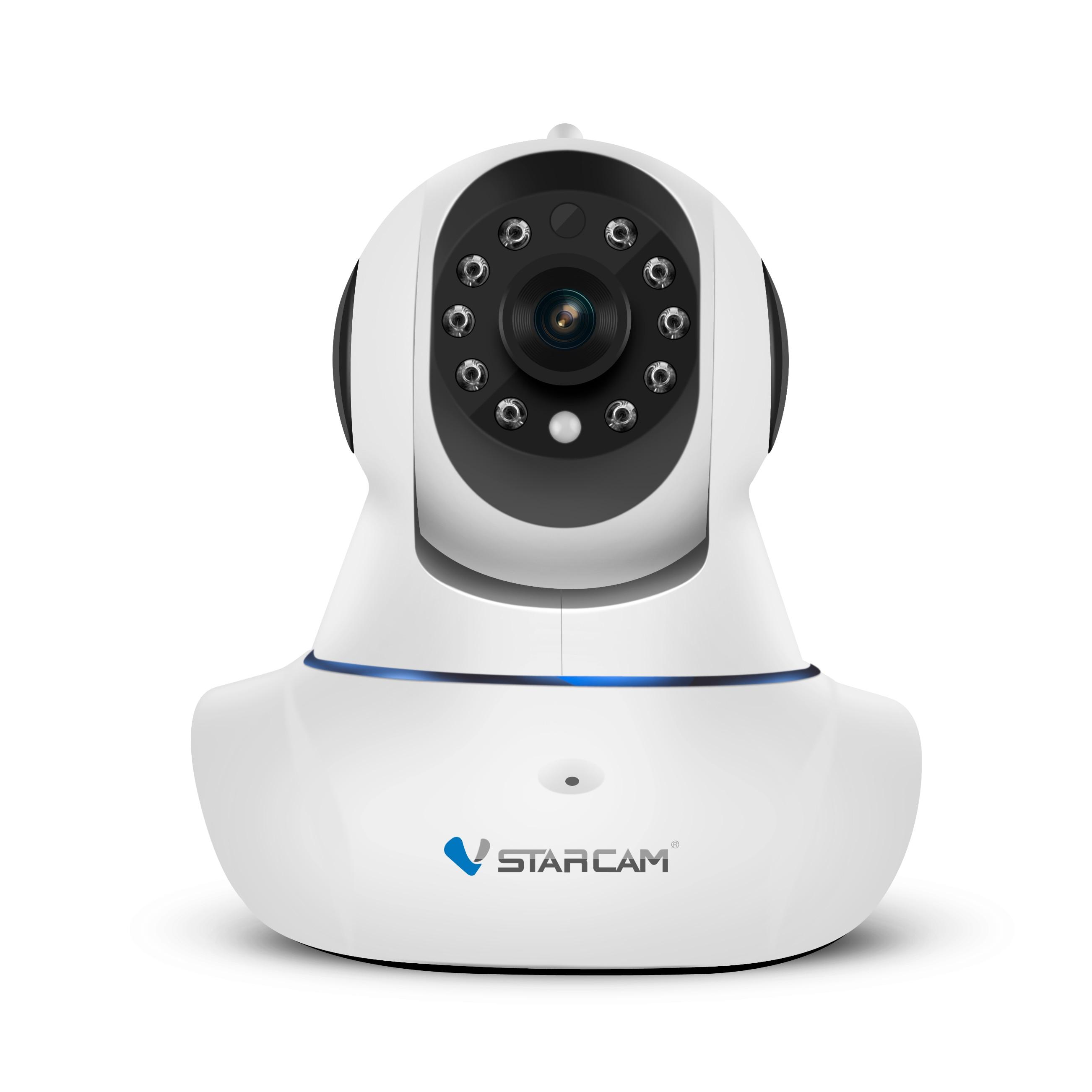 VStarcam C7825WIP=C25 720P HD Wifi IP Camera P/T Memory storage IR-Cut Night Vision Audio record Indoor Security Camera Wireless