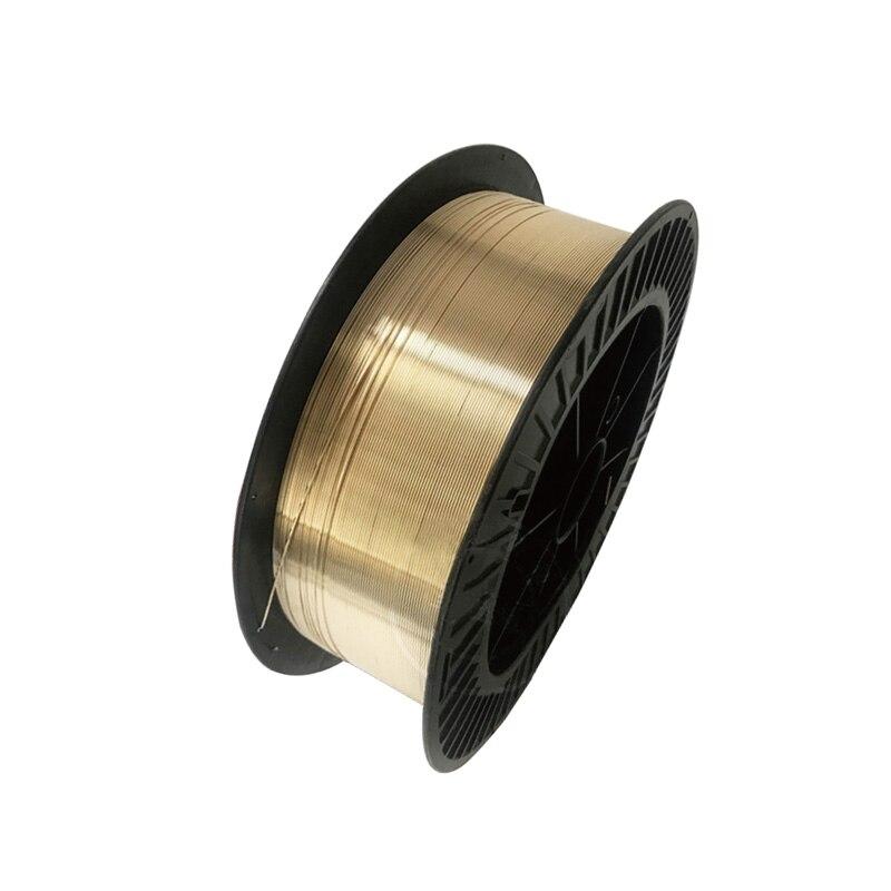 12.5 kg rouleau 0.8mm 1.0mm 1.2mm 1.6mm S214 aluminium bronze cuivre fil de soudure bobine