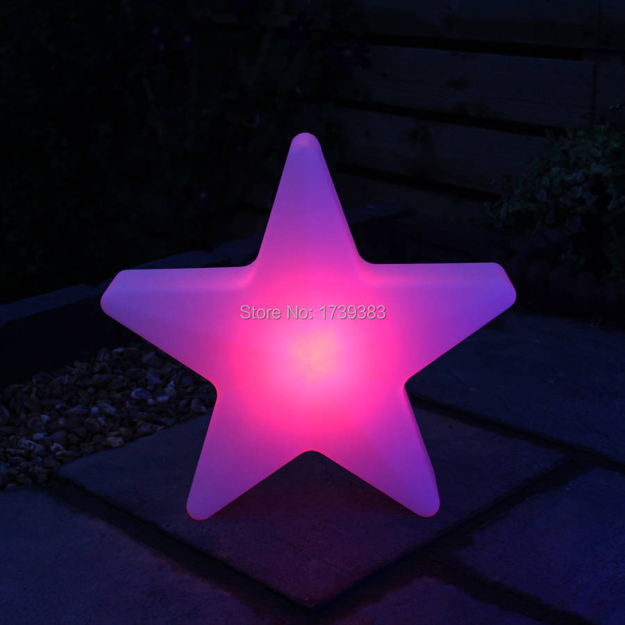 ФОТО Luminous large lamp 64*64*15cm LED Star Glow Light Multi Colour,Five-pointed star LED lamp for Christmas & Holiday Decoration