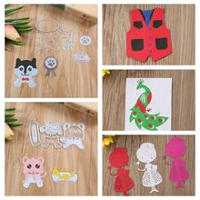 Mixed Metal Cutting Dies Stencils For Card Making Decorative Embossing Suit Paper Cards Stamp DIY Dies Scrapbooking New 2018