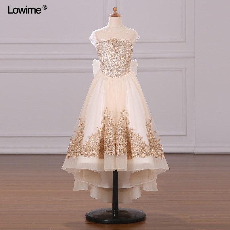 Real Photo vestido de festa 2018 Appliques Lace Cap Sleeve Prom Dress Long With Big Bow