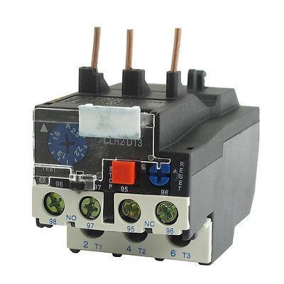 LR2-13 2.5A 1.6-2.5A 3-Phase 1NO 1NC Electric Thermal Overload Relay ac 3 2a 5a motor protection thermal overload relay 1 no 1 nc
