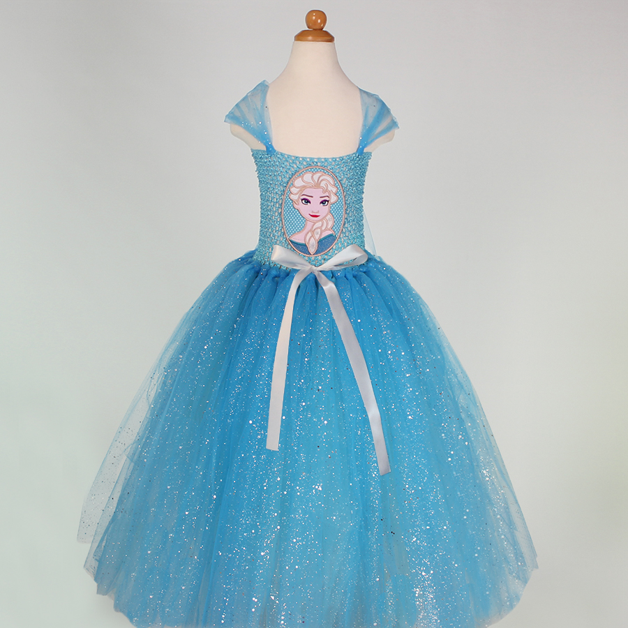 Retail free shipping beautiful christmas dresses princess