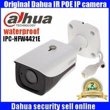 2017 New original Dahua 4MP IP67 IR40M POE IP Bullet Camera IPC HFW4421E dahua 4MP poe
