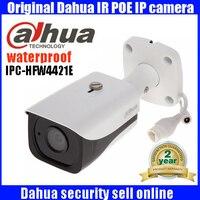 2016 New Original Dahua 4MP IP67 IR40M POE IP Bullet Camera IPC HFW4421E Free Shipping