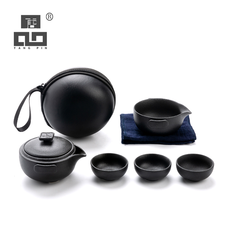 TANGPIN Ceramic Teapot Tea Cups A Tea Sets Chinese Kung Fu Travel Tea Set Drinkware