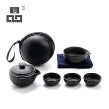 TANGPIN ceramic teapot tea cups a tea sets chinese kung fu travel tea set drinkware keith titanium outdoor tea set utralight camping kung fu tea sets