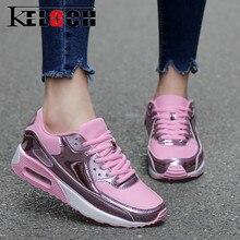 Keloch/Новинка 2017 года; модная женская повседневная обувь Летние Удобные Обувь с дышащей сеткой Туфли без каблуков женские туфли на платформе красовки Chaussure Femme