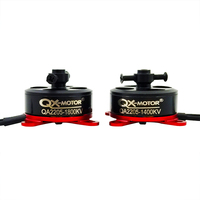 QX MOTOR QA2205 1400KV 1800KV Motore Brushless a Rotore Esterno 2 3S Lipo Rc Motore per F3P Rc Fisso  ala 3D Aereo Accessori-in Componenti e accessori da Giocattoli e hobby su
