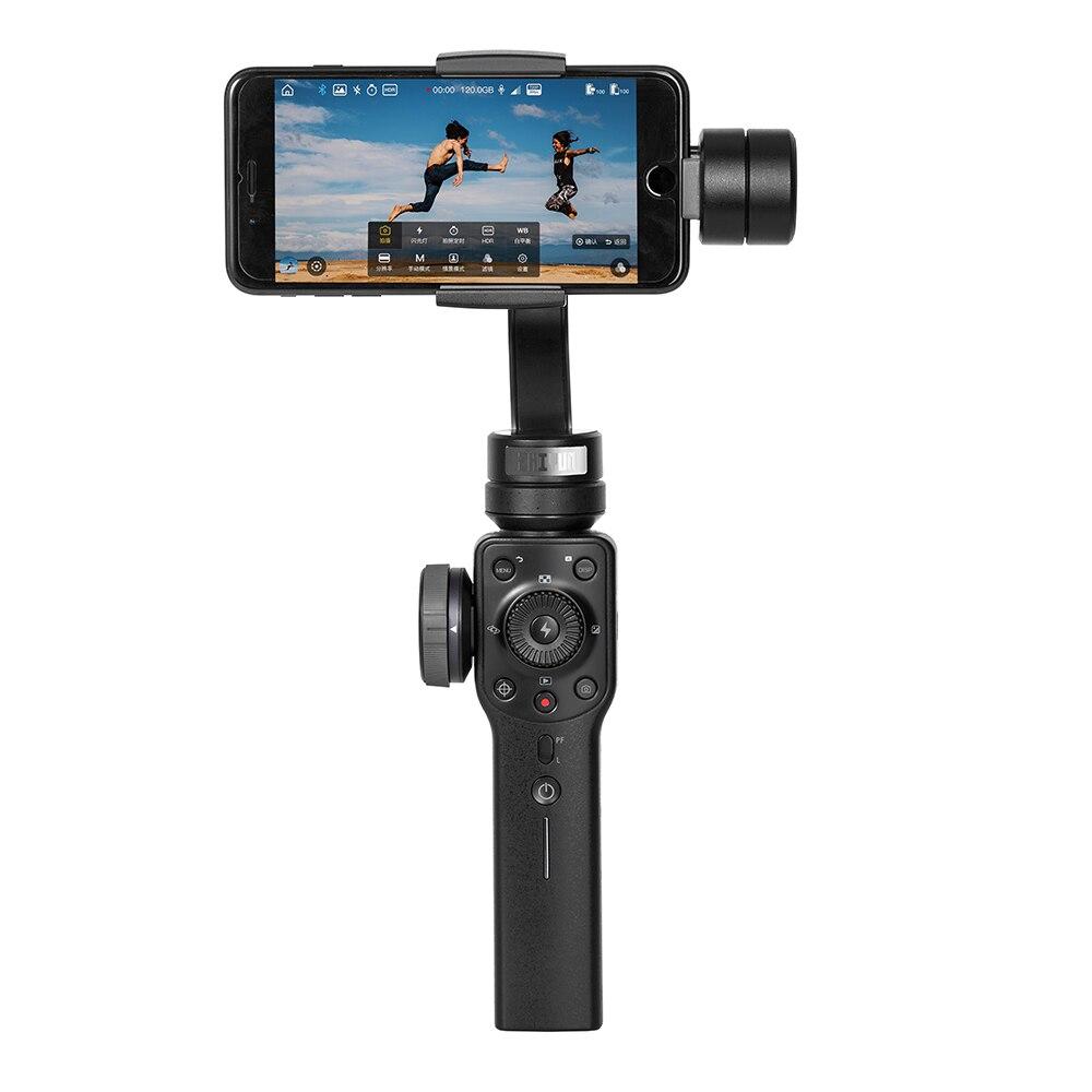 Zhiyun гладкой 4 3 оси ручной смартфон Gimbal стабилизатор стабилизации фокус тянуть и зум PhoneGo режим для iPhone samsung