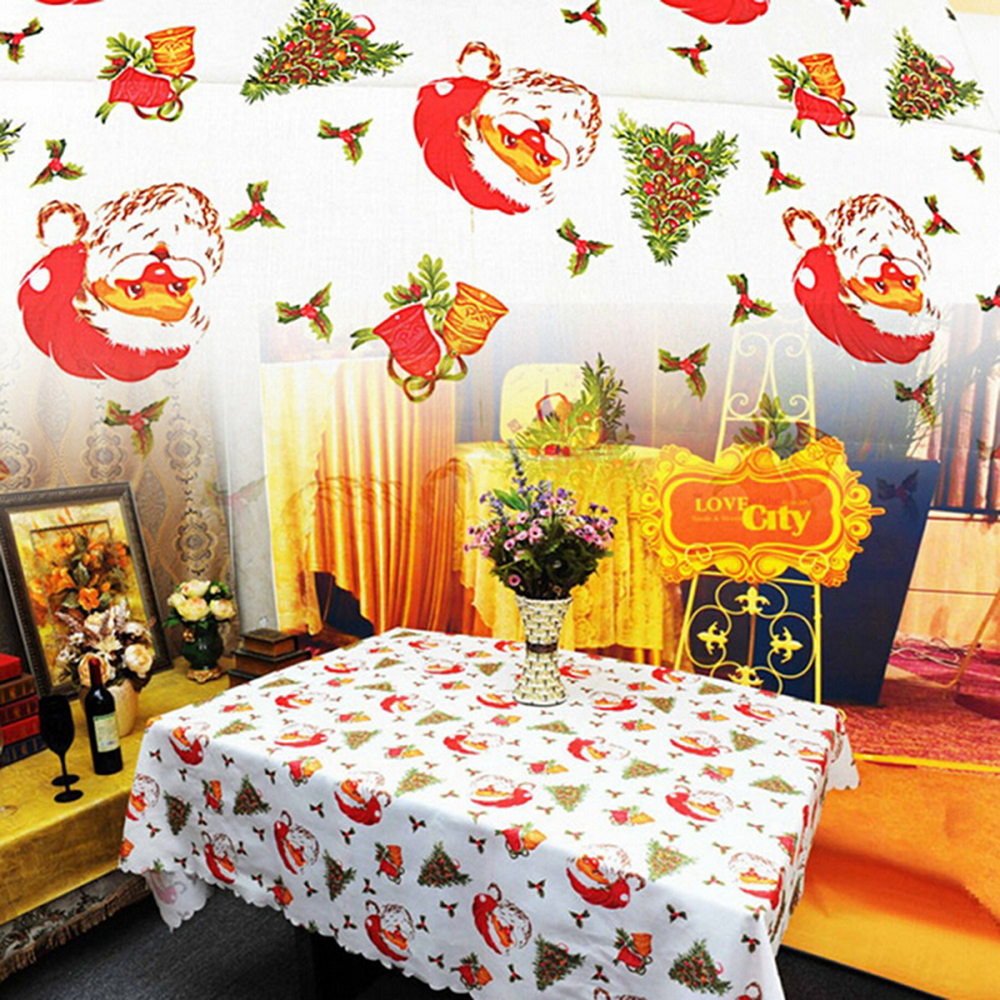 New Year Home Kitchen Dining Table Decorations Christmas Tablecloth ...