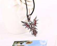 Leona Shield Metal Necklace