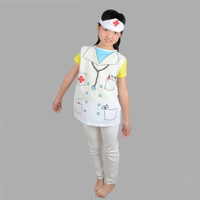 02_0  sc 1 st  Aliexpress & Online Shop Girls Child Kids Doctor Nurse Cosplay White Fancy ...