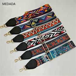 Новые цветные широкие регулируемые брительки дамская сумка аксессуары ремень наплечный ремень Наклонный по цвету ремень