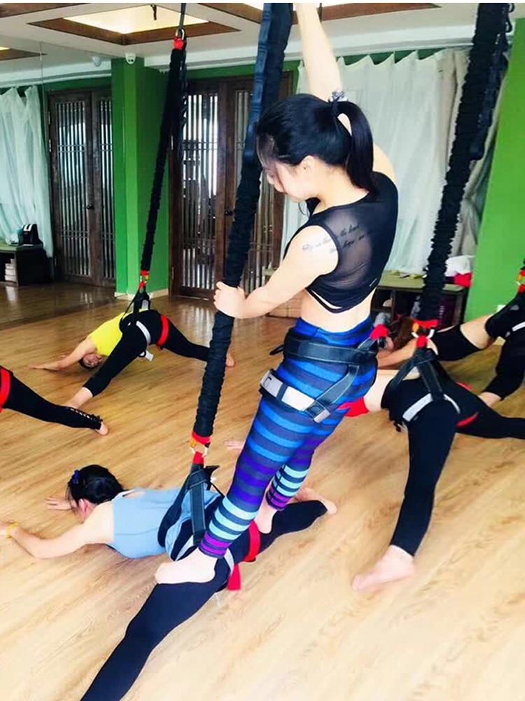 Bungee Dance Resistance Bands Fitness Yoga Cord Pilates Elastic Suspension Set