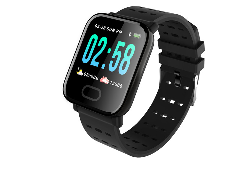 mafam A6 Smart Watch Heart Rate Monitor Sport Fitness Tracker Sleep Monitor blood pressure Waterproof Sport Watch Band for IOS Android (23)