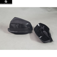 Replacement F10 F18 525 530 535 Carbon fiber Side mirror covers Mask for BMW F10 F18 5 Series 2011 2013 Free shipping