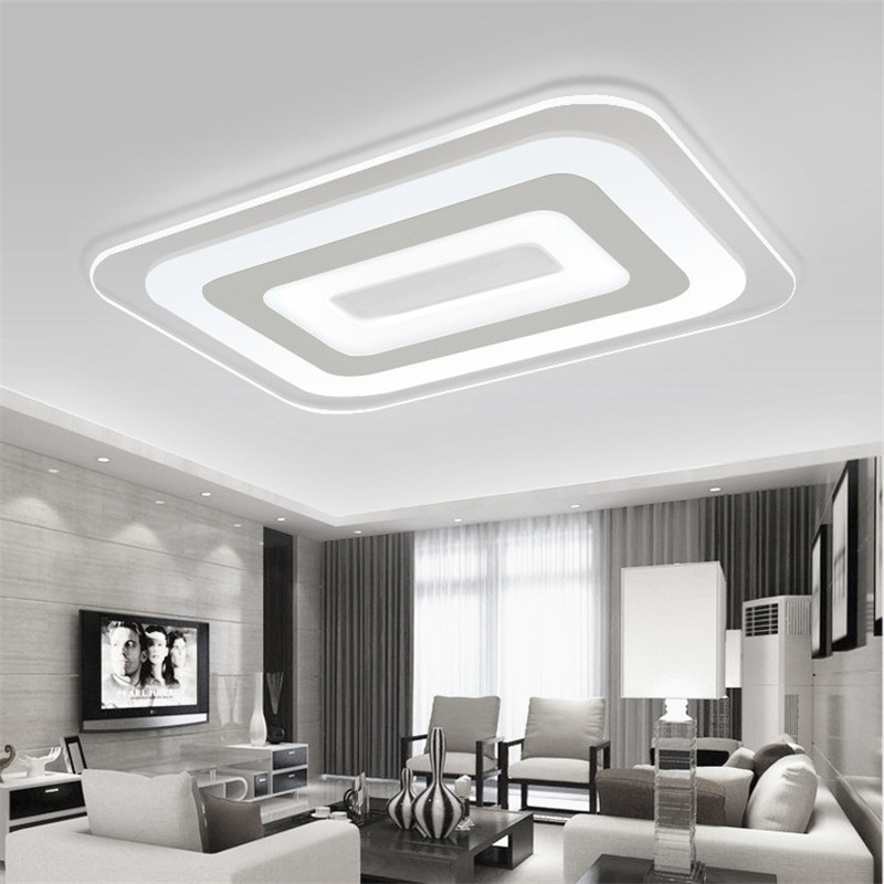 Kitchen Ceiling Lights With Led Bulbs: Aliexpress.com : Buy Modern Led Ceiling Light Living Room