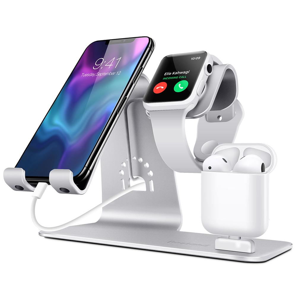 3 in 1 Wireless Charger Stand Charging Dock Pad for Apple