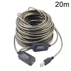 Image 5 - 2018 5/10/15/20m USB 2.0 Active Extension Repeater Cable Signal Booster Extended Cord