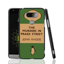 07154 penguin murders praed street cell phone protective case cover for LG G5 G4 G3 K10 K7 magna