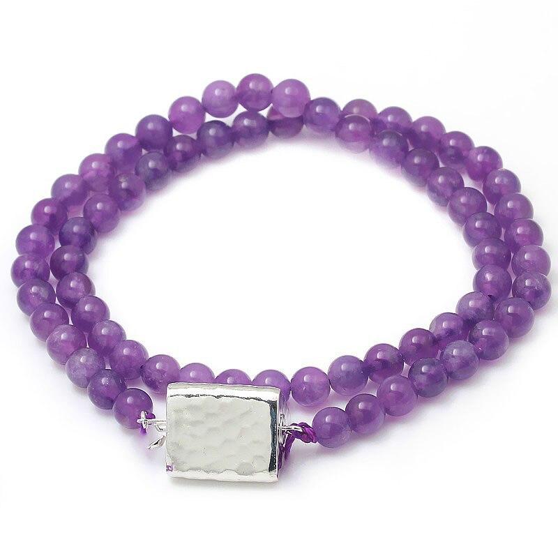 JOYMARK 14x25mm Triangle 925 en argent Sterling boîte fermoir connecteur perle Bracelet collier bijoux accessoires SC-BC252 - 3