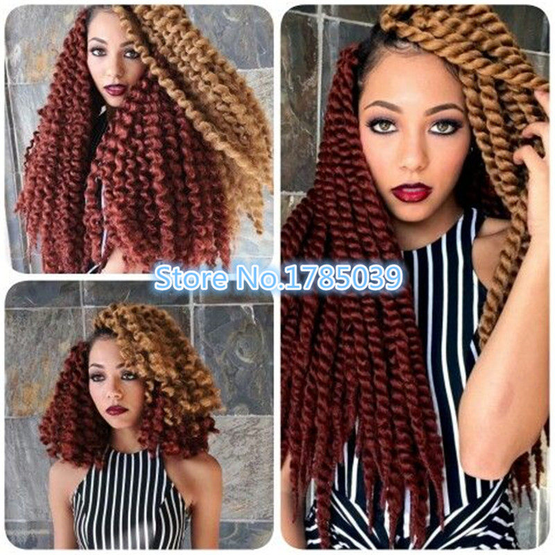 African American Synthetic Box Braiding Hair Micro Hand