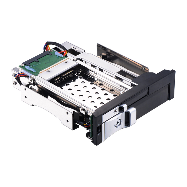 Uneatop St7226 5 25 Pc Bay 2 Hard Disk 2tb 3 Aluminum Sata Mobile Rack 2nd Caddy