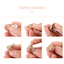 Mini Hearing Aid For Sound Enhancement With Digital Sound Amplifier