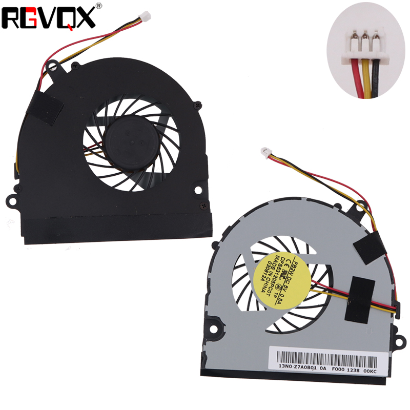 Купить с кэшбэком New Laptop Cooling Fan For Fujitsu Lifebook NH532 N532 Original PN: DFS531205PC0T FB2W CPU Cooler Radiator