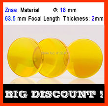 Znse (imported material) diameter 18 mm focus distance 63.5 mm thickness 2 mm CO2 laser focus len igmk 19 co2 laser focus lens materials usa znse diameter 19mm edge thickness 3mm focal length 101 6mm clean surface