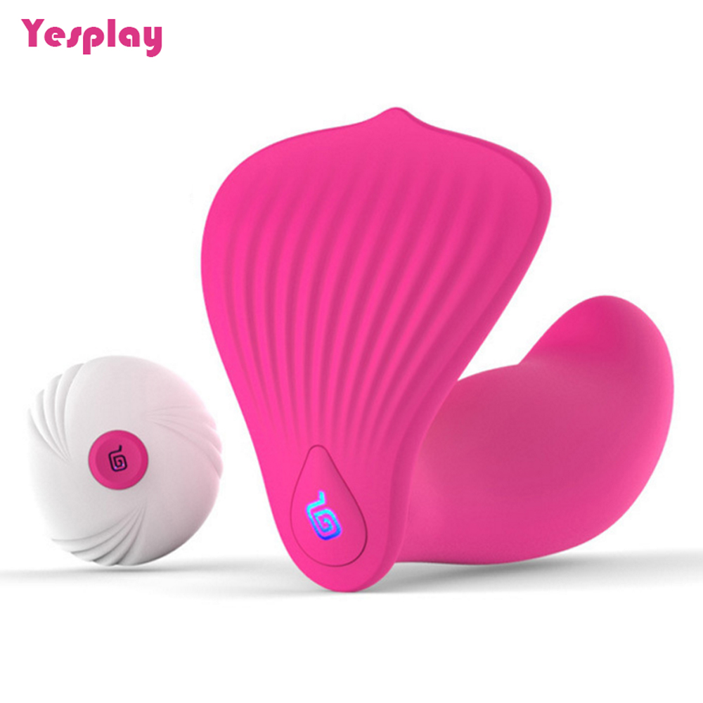 Silicone G-spot Vagina Vibrator Wireless Remote Control Vibrating Panties Massage Stick Body Nipple Massager Sex Toys for Woman
